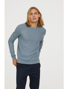 sweter-z-bawełny-pima by h&m