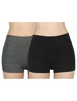 ilovesia-womens-knickers-yoga-gym-pants-stretch-boy-shorts by amazon