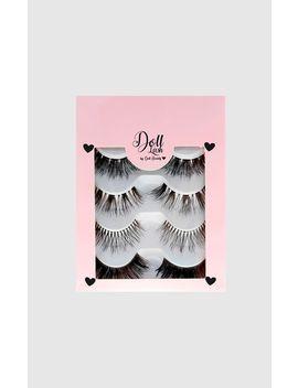 doll-lash-multipack-of-4-false-eyelashes- by prettylittlething