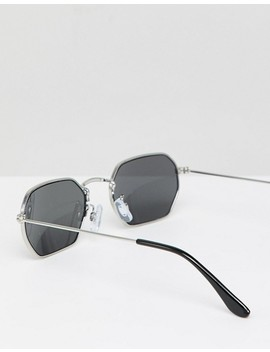 monki-hexagon-sunglasses-in-black by monki