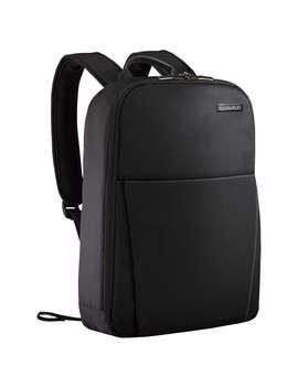 """Briggs & Riley Sympatico 15.6"""" Laptop Travel Backpack, Black by Briggs & Riley"""