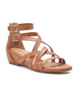 croft-&-barrow®-maiden-womens-gladiator-sandals by croft-&-barrow