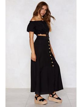 Two Me From Me Off The Shoulder Top And Maxi Skirt by Nasty Gal