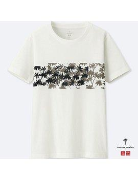 Men Tomas Maier 100% Supima Cotton Short Sleeve T Shirt by Uniqlo