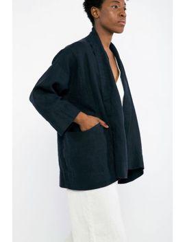Elizabeth Suzann Linen Clyde Jacket Xs by Elizabeth Suzann