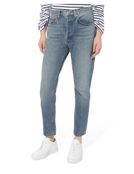 High Rise Relaxed Jeans by Re/Done