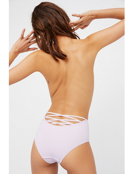 High Waist Strappy Knickers by Free People
