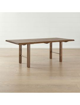 """Montana 82"""" Live Edge Dining Table by Crate&Barrel"""