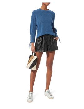 Black Leather Shorts by Rag & Bone/Jean