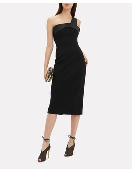 Folded Bandeau Midi Dress by Victoria Beckham