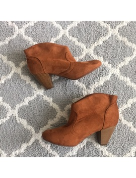 Slide On Ankle Boots Booties Size 7 by Charlotte Russe