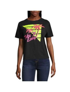 """Arizona """"Take It Easy"""" Graphic T Shirt  Juniors by Arizona"""