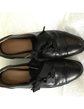 Nine West Black Leather Thayla Shoes 7.5 by Nine West