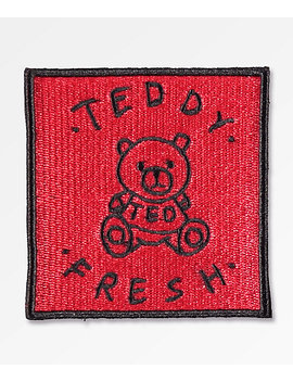 Teddy Fresh Red Patch by Teddy Fresh Inc