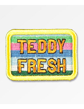 Teddy Fresh Stripes Patch by Teddy Fresh Inc