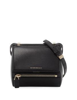 Pandora Box Mini Leather Crossbody Messenger Bag by Givenchy