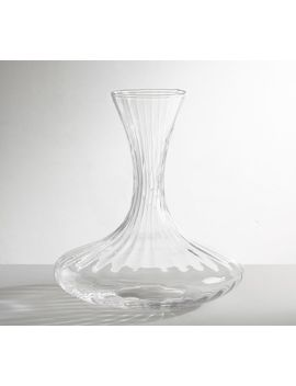 Optic Wine Decanter by Pottery Barn
