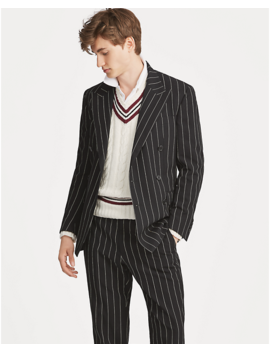 Polo Striped Suit Jacket by Ralph Lauren