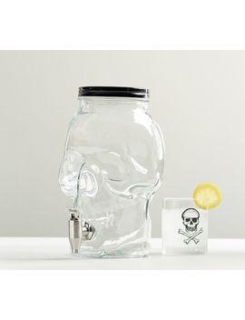 Skull Drink Dispenser by Pottery Barn