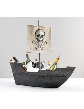 Pirate Ship Party Bucket by Pottery Barn