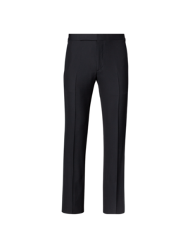 Slim Barathea Tuxedo Trouser by Ralph Lauren