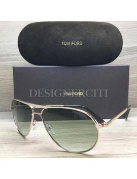 Tom Ford Marko Tf144 144 Sunglasses Gold Black 28 P Authentic 58mm by Tom Ford