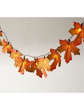 Autumn Leaf String Lights by Pottery Barn
