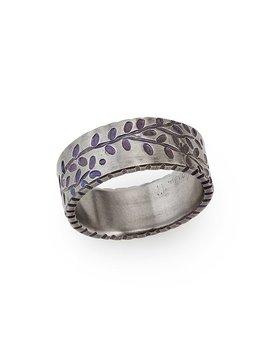 Titanium Vines Ring by Tavia Brown