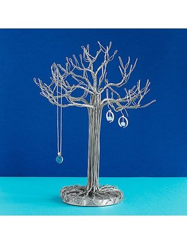 Wire Sculpture Jewelry Tree by Devin Mack