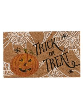 Trick Or Treat Light Up Doormat by Pottery Barn