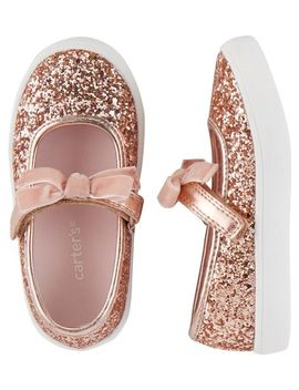 Carter's Glitter Mary Jane Sneakers by Carter's