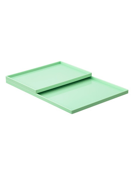 Mint Poppin Accessory Slim Trays by Container Store