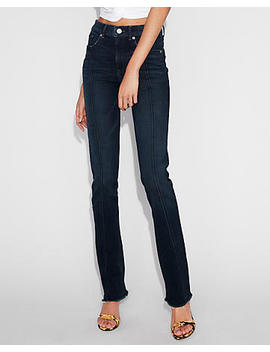 High Waisted Stretch+ Denim Perfect Skyscraper Jeans by Express