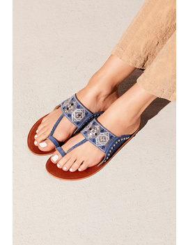 Sea Breeze Slide Sandal by Free People