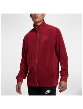 Nike Velour Track Jacket   Men's by Nike