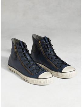Chuck Taylor All Star Painted Double Zip High Top by John Varvatos