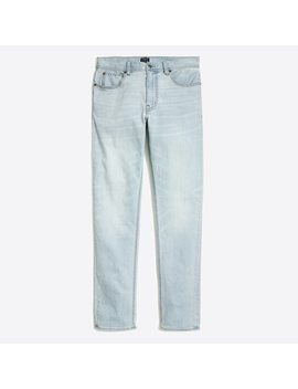 Stretch Sutton Straight Fit Jean In Thomas Wash by J.Crew