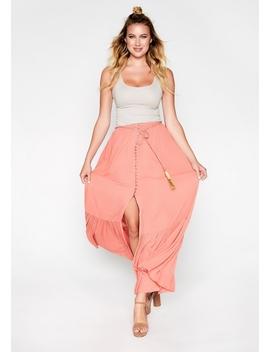 Tassel Circle Skirt by Alloy