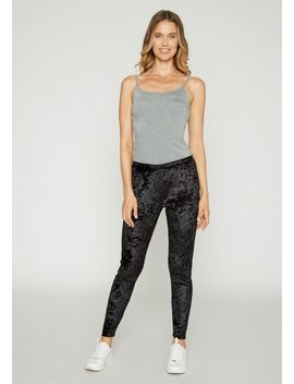 Tall Lily Velvet Leggings by Alloy