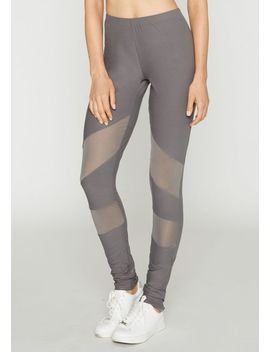 Tall Kenzie Mesh Leggings by Alloy