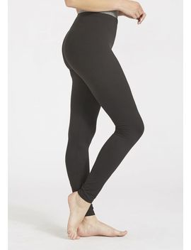 Tall High Waist Basic Leggings by Alloy