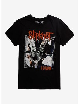 Slipknot Iowa Cover T Shirt by Hot Topic