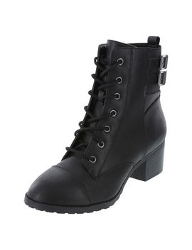 Women's Riot Combat Boot by Learn About The Brand Brash