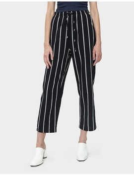 Maisie Stripe Pull On Pant by Stelen