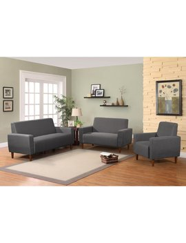 Container Mid 3 Piece Living Room Set & Reviews by Container