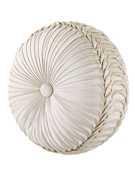 Queen Street® Maddison Tufted Round Decorative Pillow by Queen Street