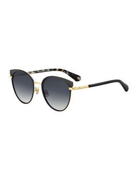 Janalee Cat Eye Metal & Acetate Sunglasses by Kate Spade New York