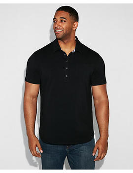 Popover Moisture Wicking Stretch Polo by Express