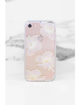 Sonix Cases Bellflower White Multi I Phone Case by Tobi