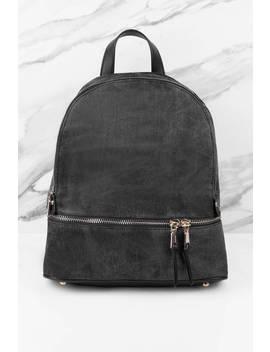 Urban Expressions Monty Black Backpack by Tobi